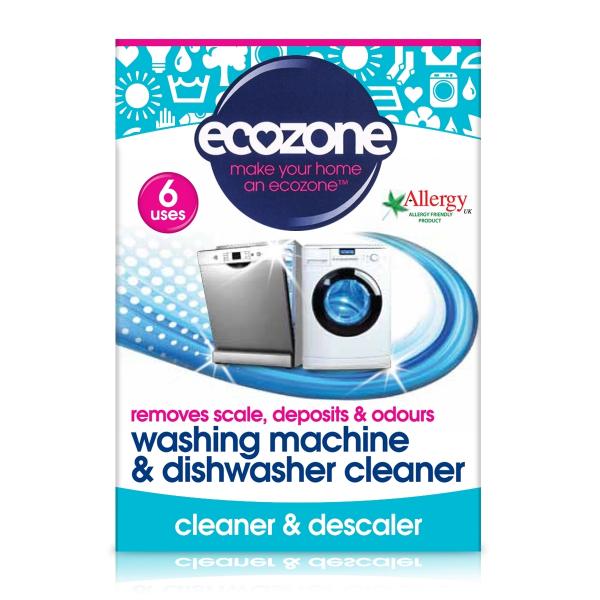 Tablete pt. curatarea masinii de spalat rufe si vase, Ecozone, 6 buc [0]
