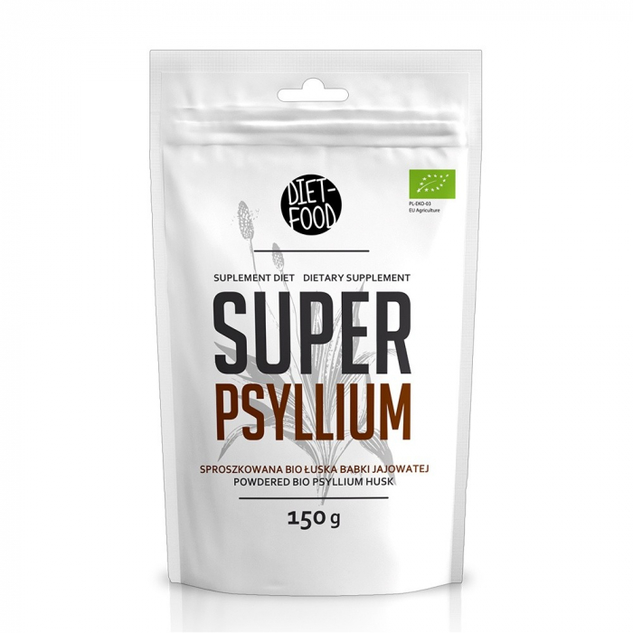 Tarate de psyllium - pulbere bio 150g [0]