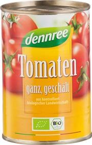 Tomate cojite in sos de rosii in doza  400 g 0
