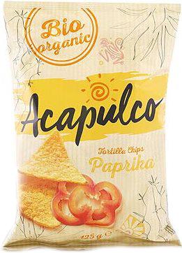 Tortilla chips cu boia 125 g 0