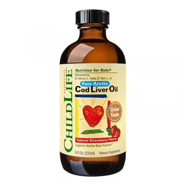 Ulei de cod (Cod Liver Oil) 237ml Childlife Essentials SECOM 0
