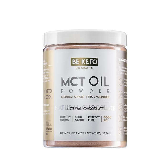 Ulei  MCT pudră cu ciocolată 300g Be Keto [0]