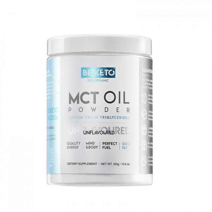Ulei MCT pudră fără arome 300g- Be Keto 0