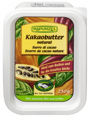 Unt de cacao natural  250 g 0