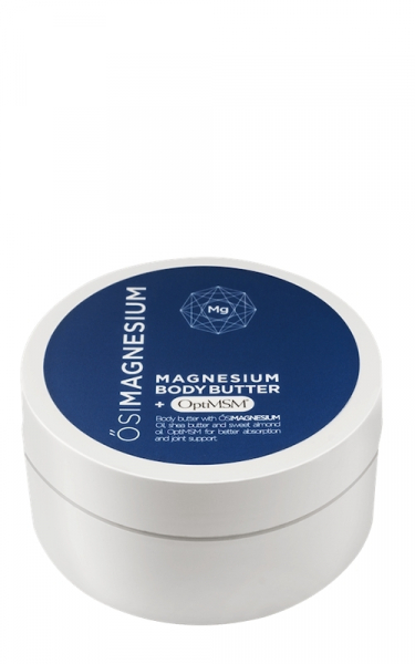 Unt de corp Osi Magnesium, cu magneziu, unt de shea, migdale duci si OptiMSM, 200 ml 0
