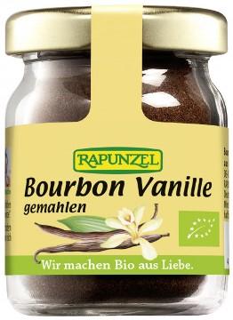 Pudra de Bourbon vanilie bio macinata NOP 15g 0