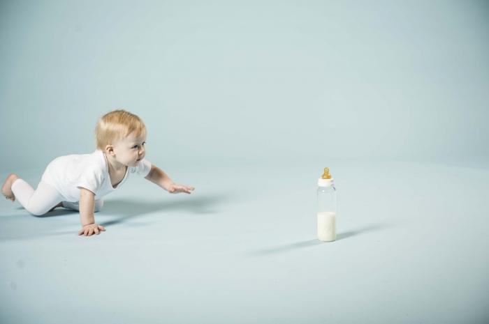 2in1 Baby glass bottle Star Ball White 4