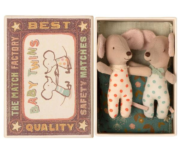 Baby mice, Twins in matchbox 0