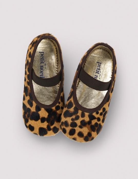 Ballerina Shoe w Elastic Blur Leo 0