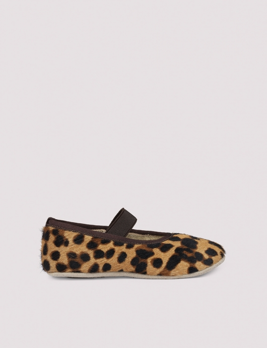 Ballerina Shoe w Elastic Blur Leo 1