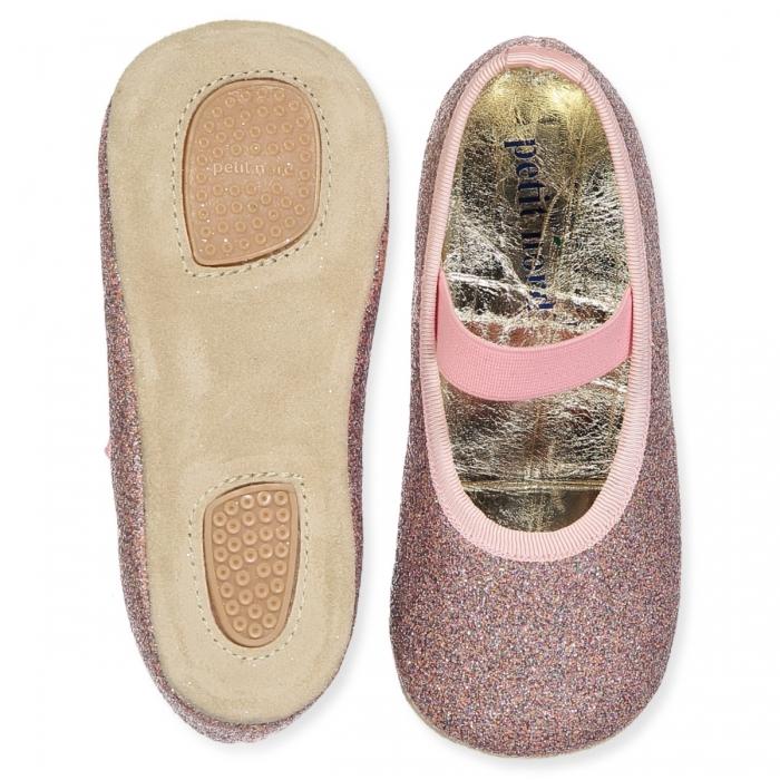 Ballerina Shoe w Elastic Disco 2