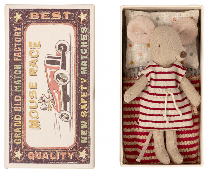 Big sister mouse in matchbox [1]
