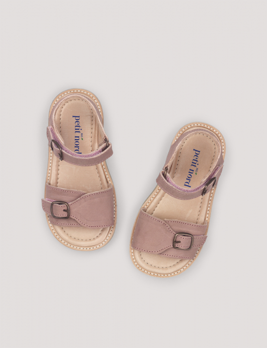 Buckle sandal Old rose 0