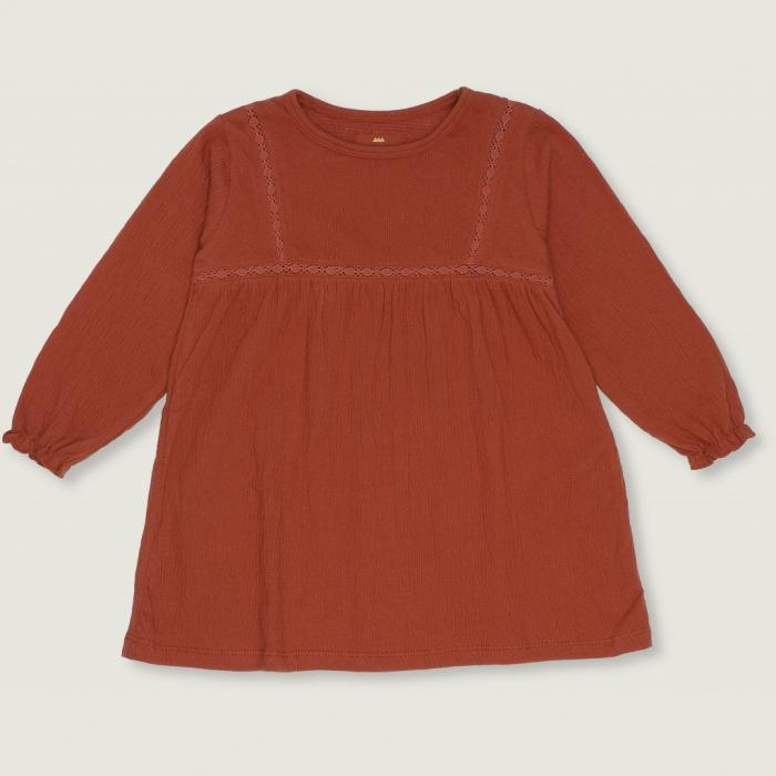 Chlea Lace Dress Chutney [0]