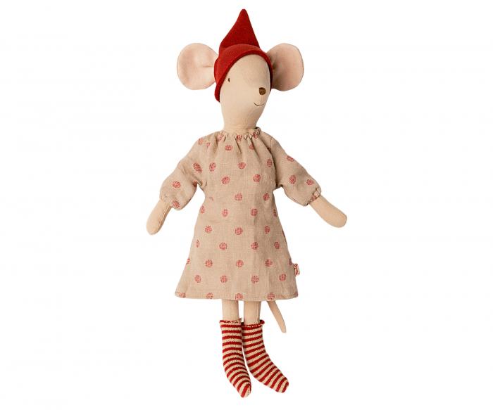 Christmas mouse, medium - Girl 0