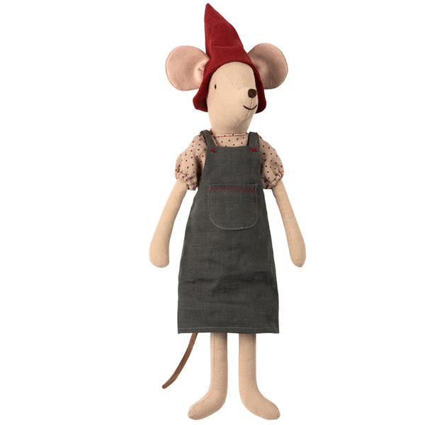Christmas mouse, medium - Girl 0