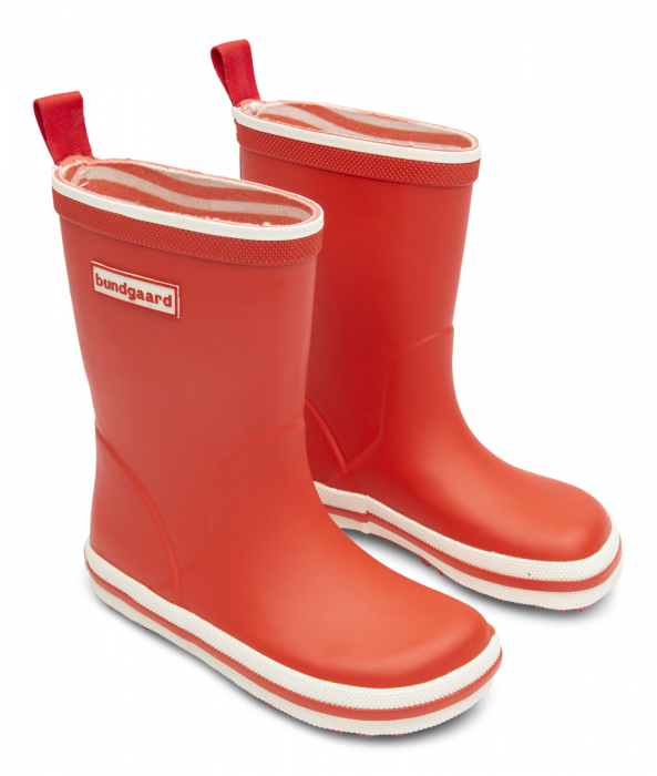 Classic Rubber Boot Blood Orange 1