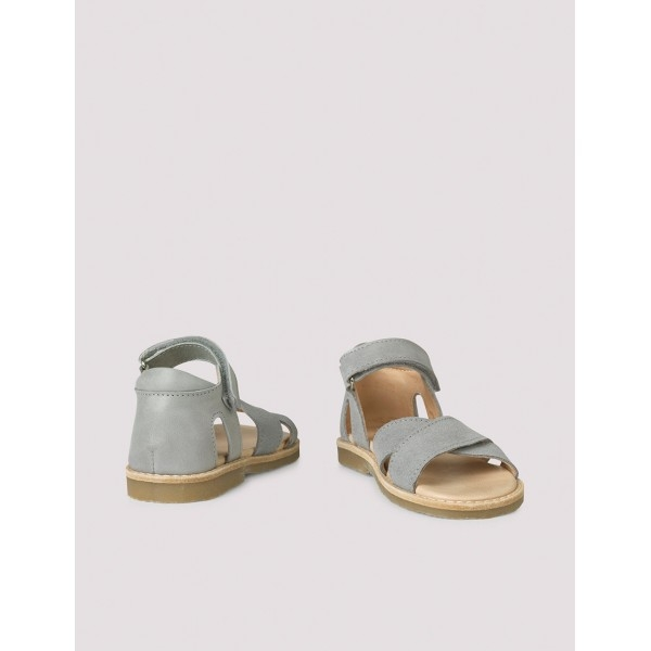 Cross-over sandal concrete green 0