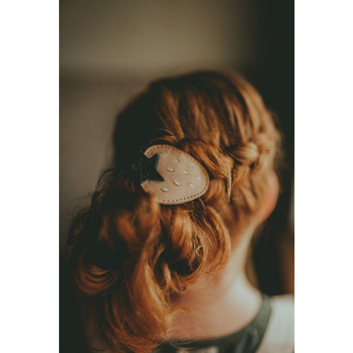 Elastic pentru par - Nanoe Fruit Hair Tie Strawberry [2]