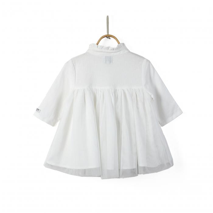Fieke Dress Swan White 1