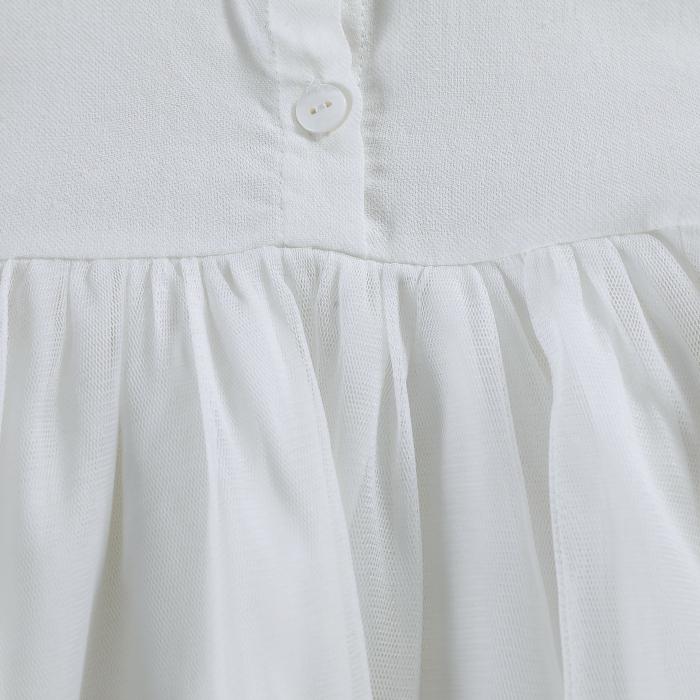Fieke Dress Swan White 4