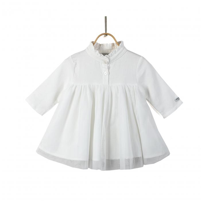 Fieke Dress Swan White 0