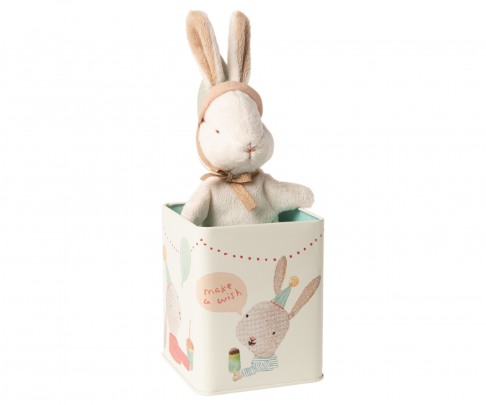 Happy day bunny in box, Small 0