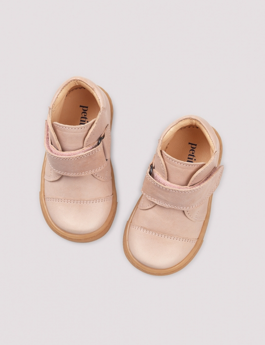 Kicks velcro Soft pink 2