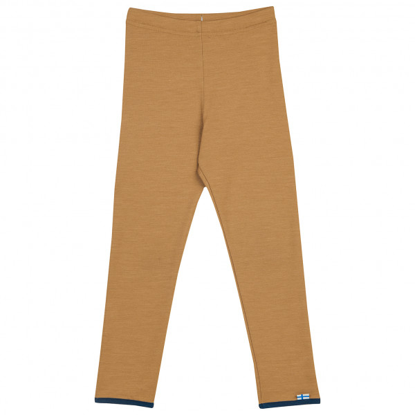 Leikki wool leggings cinnamon/navy [0]