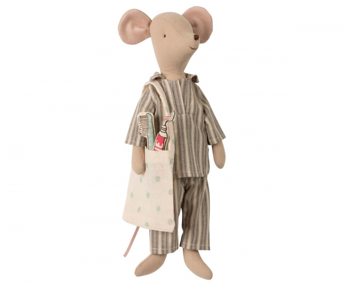 Medium mouse in box - Boy, incl sleep-over set 1