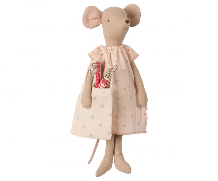 Medium mouse in box - Girl, incl sleep-over set [2]
