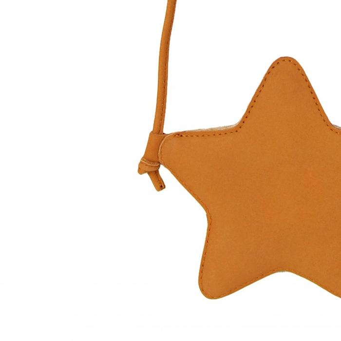 Milo Purse Star Caramel Nubuc 1