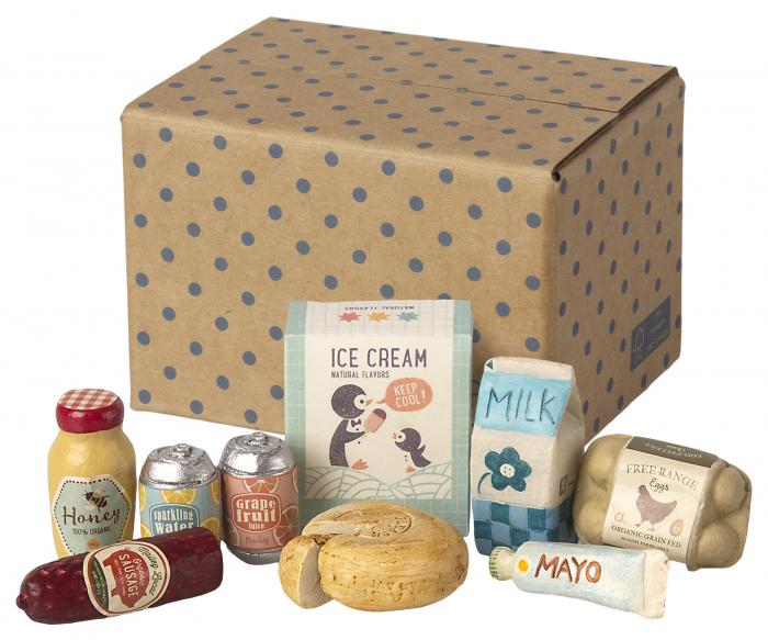 Miniature grocery box [0]
