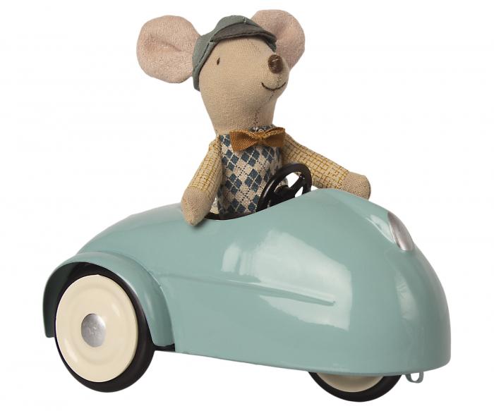 Mouse car w garage - Blue [2]