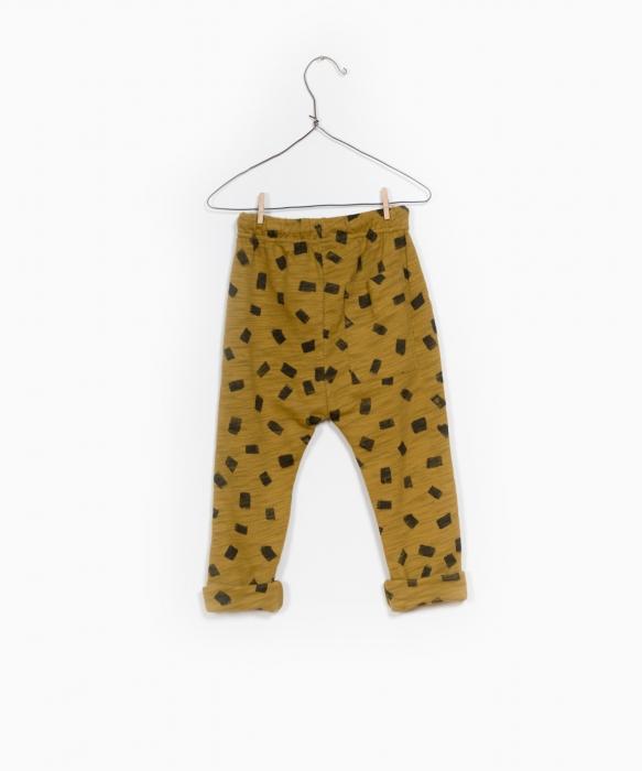 Pantaloni jerseu print 1