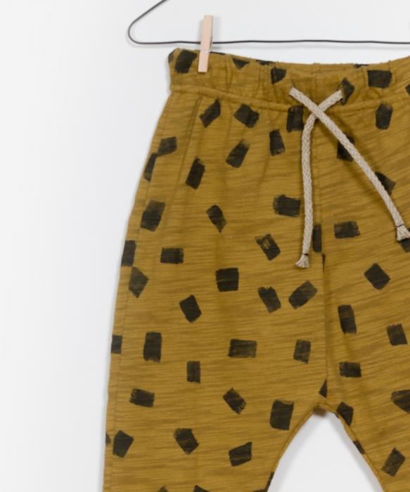 Pantaloni jerseu print 2