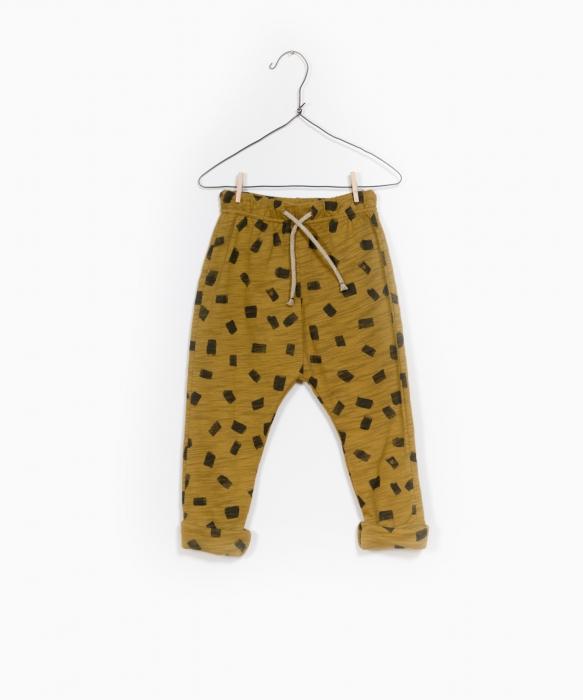 Pantaloni jerseu print 0