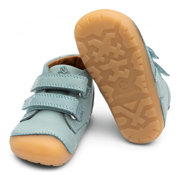 Petit Velcro Jeans Mint 0