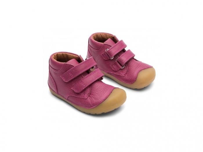 Petit Velcro Rosewine 1