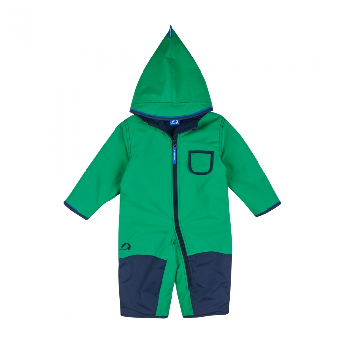 Pikku winter overall leaf/navy 0