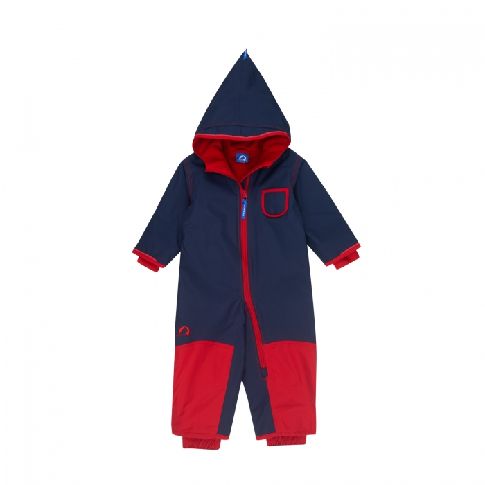 Pikku winter overall  navy/red 0