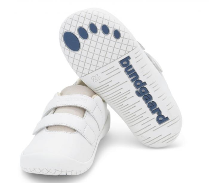 Sneacker Benjamin Velcro White 1