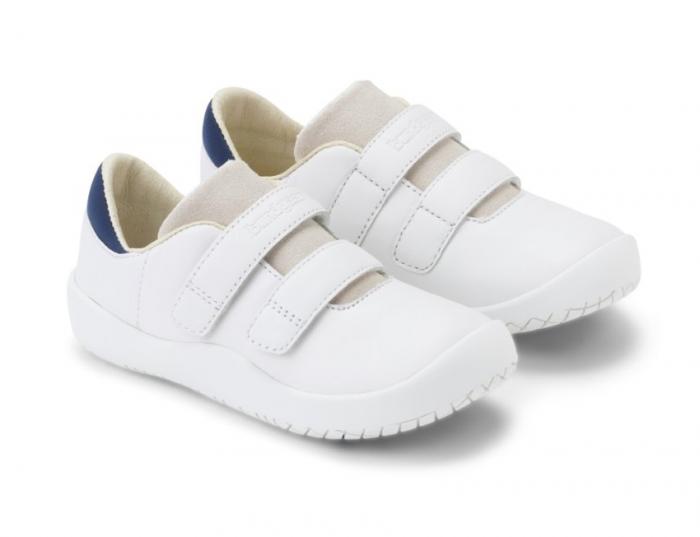 Sneacker Benjamin Velcro White 0