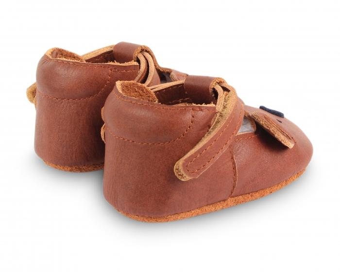 Pantofi din piele naturala, tip barefoot 2