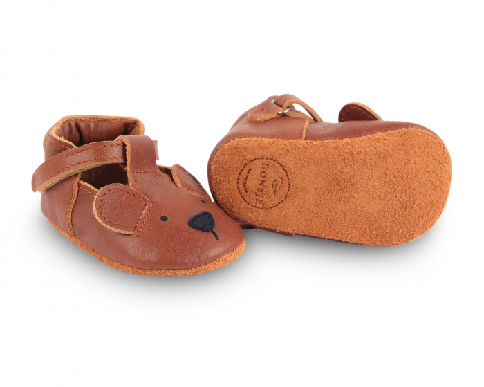 Pantofi din piele naturala, tip barefoot 3