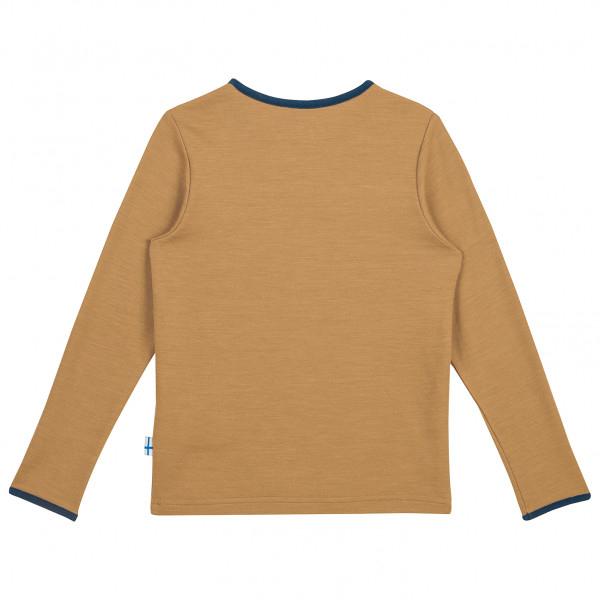 Taamo wool longsleeve cinnamon/navy [1]