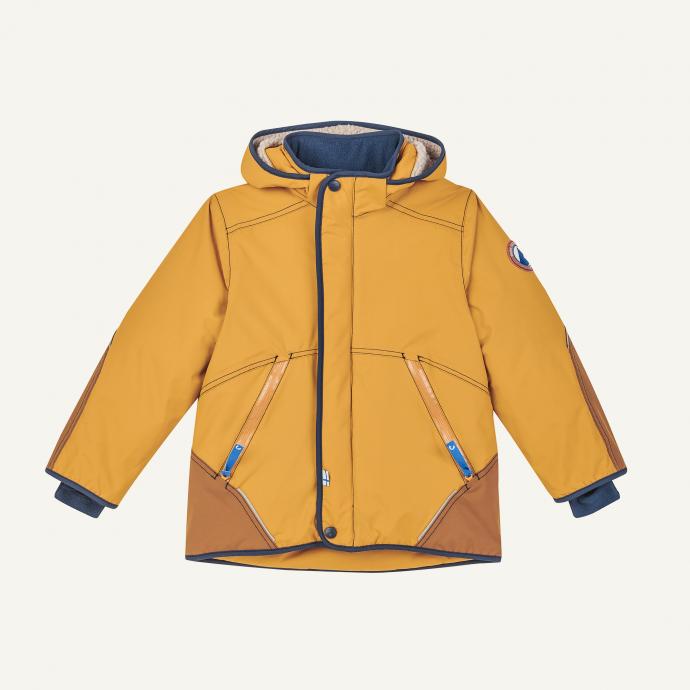Talvinen Husky winter jacket golden yellow/navy [0]