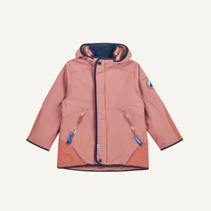 Talvinen Husky winter jacket rose/navy [0]