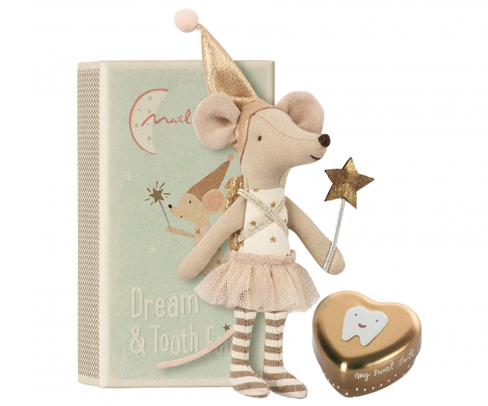 Tooth fairy, Big sister mouse w metal box 0