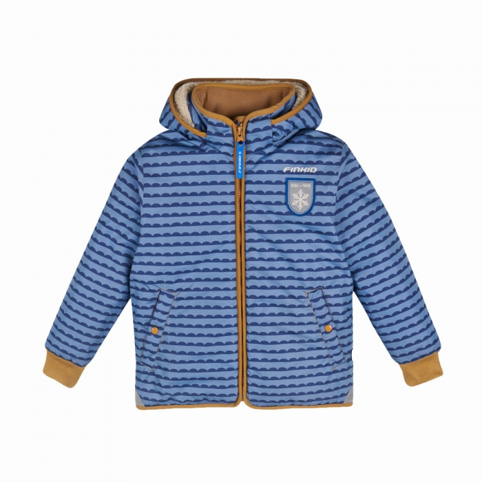 Vanu soft winter jacket pebbles blue 0